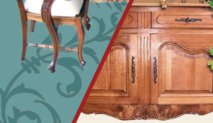French Provincial Furniture Oriental