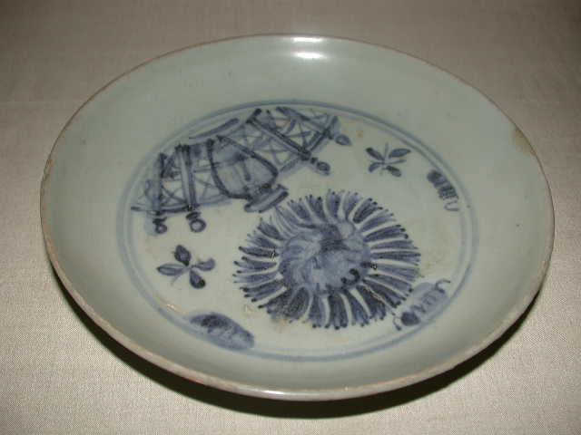 Other porcelain - Oriental Antique Furniture & www.emwa.com.au - Antique Chinese Porcelain Plate - Oriental ...