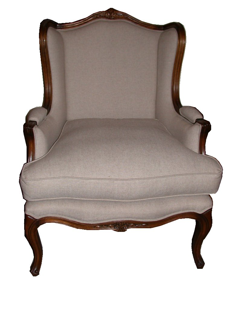 Great Louis Wingback Chair