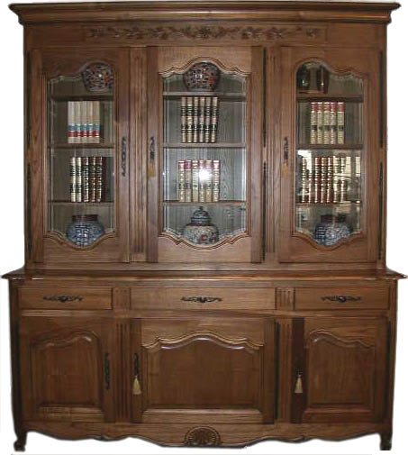 French Bookcase Louis XV style