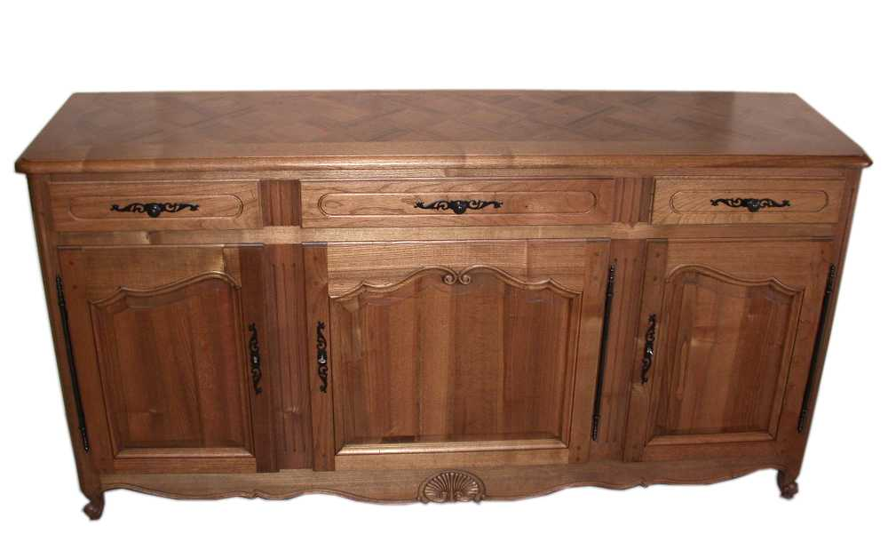 sideboard - french provincial sideboard / buffet- -French Provincial furniture